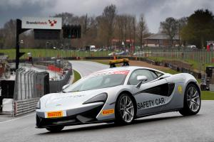 McLaren 570S Coupe British GT Championship Safety Car 2016 года