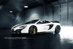 McLaren 650S Spyder by Driving Emotions Motoarcar on ADV.1 Wheels (ADV5.3 M.V2 CS) 2016 года