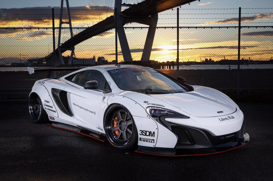 McLaren 650S in White by Liberty Walk