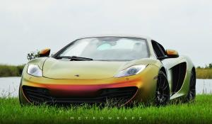 McLaren MP4-12C Avery ColorFlow by MetroWrapz 2016 года