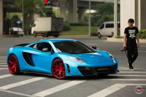 2016 McLaren MP4-12C on Vossen Wheels (VPS-306)