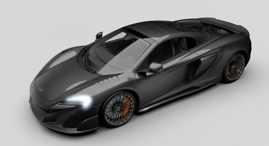 McLaren MSO 675LP Carbon Series LT Limited Edition