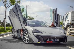McLaren 570GT on Forgiato Wheels (Turni-ECL) 2017 года