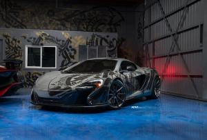 McLaren 650S by R1 Motorsport on ADV.1 Wheels (ADV10 M.V2 CS) 2017 года