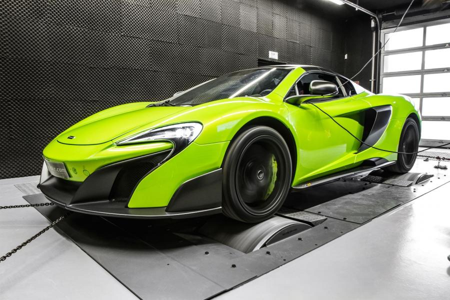 McLaren 675LT 3.8 Bi-Turbo Stage 2 by Mcchip-DKR