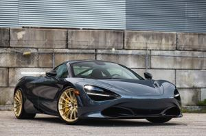 2017 McLaren 720S Coupe on HRE Wheels (P103)