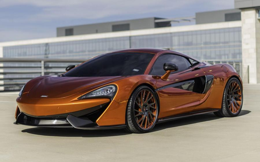 McLaren 570S on Forgiato Wheels (TEC 2.5)