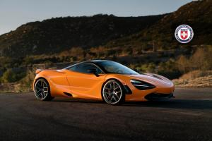 2018 McLaren 720S Azore Orange by HRE Wheels (R101)