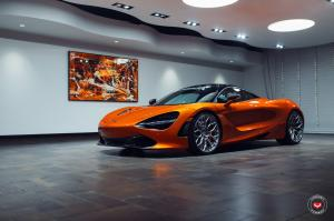 McLaren 720S on Vossen Wheels (S17-01) 2018 года