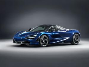 McLaren MSO 720S Atlantic Blue 2018 года