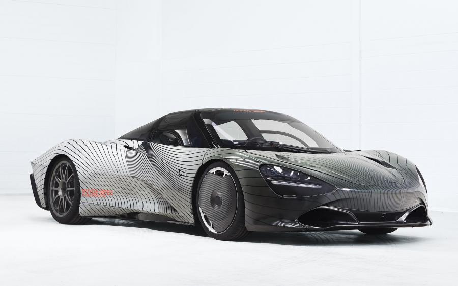 McLaren Speedtail Albert Prototype (MVY02) '2018