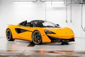 McLaren 570S Spider by Pfaff Tuning on ADV.1 Wheels (ADV05C TRACK SPEC CS) 2019 года