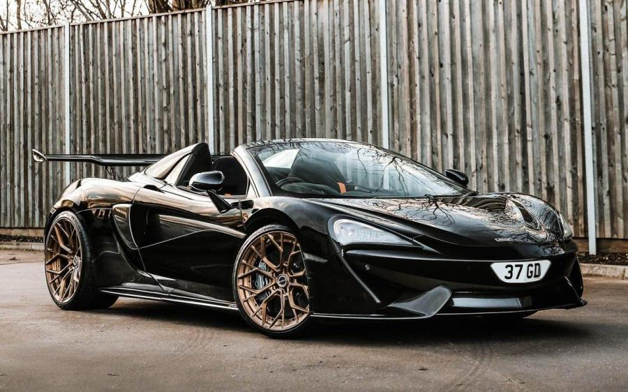 McLaren 570S Spider on Brixton Forged Wheels (PF10 Duro Series)