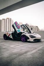 McLaren 720S Alec Monopoly Art Car by 1016 Industries 2019 года