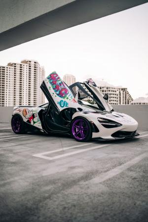 2019 McLaren 720S Alec Monopoly Art Car by 1016 Industries