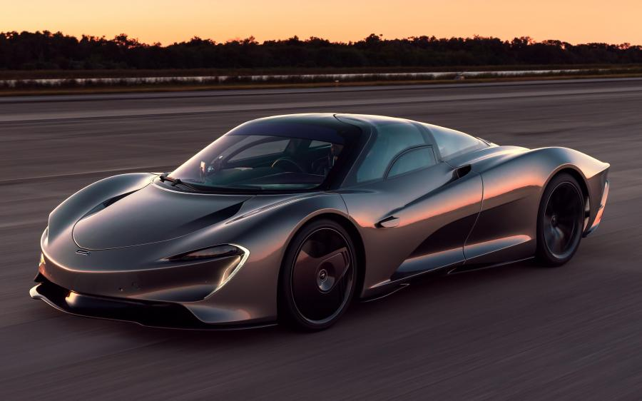 McLaren Speedtail Speed Test '2019