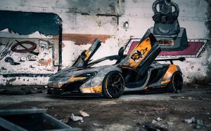 McLaren 650S Chernobyl by Liberty Walk on HRE Wheels 2020 года