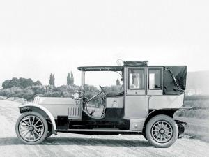 Mercedes-Benz 75 HP Double Phaeton 1908 года