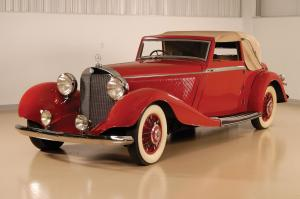 1936 Mercedes-Benz 500K Drophead Coupe by Corsica