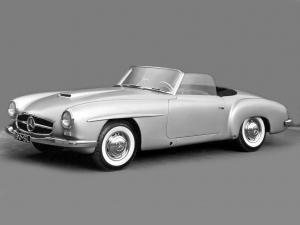 1954 Mercedes-Benz 190 SL Prototype