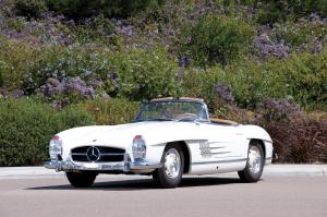 Mercedes-Benz 300 SL Roadster 1958 года