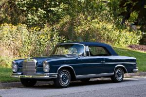 1962 Mercedes-Benz 220 SEb Cabriolet Conversion