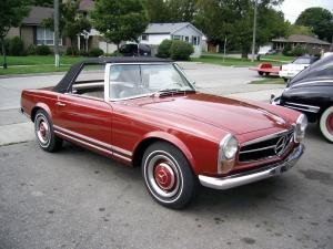 1967 Mercedes-Benz 230 SL Roadster