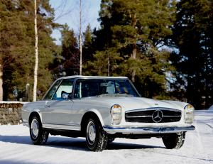 Mercedes-Benz 280 SL 1968 года (WW)