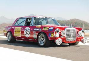 1969 Mercedes-Benz 300 SEL 6.3 Red Pig Replica