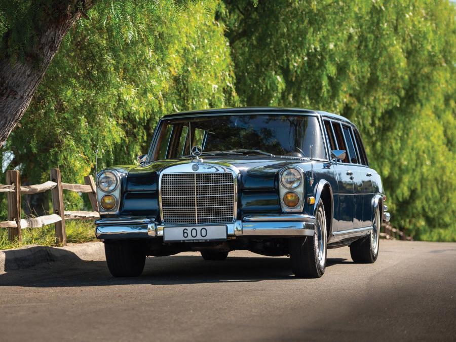 Mercedes-Benz 600 Pullman Limousine 1970 года выпуска ...