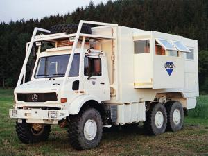 1980 Mercedes-Benz Unimog U2450L 6x6 by Unicat