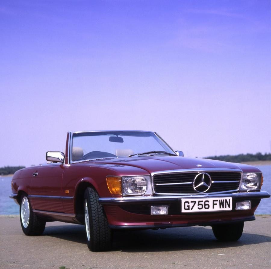 1985 Mercedes-Benz SL-Class (UK)