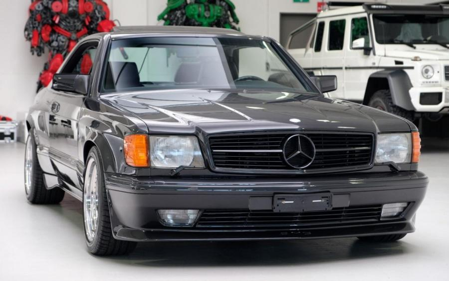 Mercedes-Benz 560 SEC 6.0 AMG Widebody 1989 года
