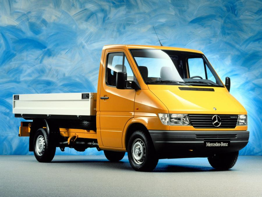 Mercedes-Benz Sprinter Double Cab Pickup