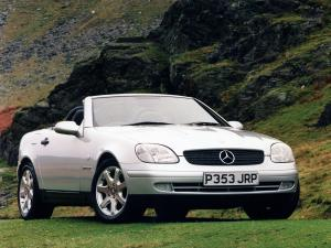 Mercedes-Benz SLK230 Kompressor 1996 года
