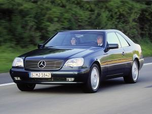 Mercedes-Benz CL500 1997 года