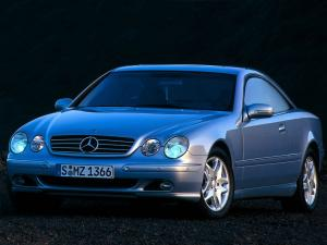 Mercedes-Benz CL500 1999 года