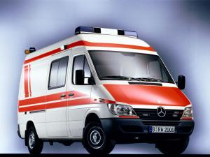 2000 Mercedes-Benz Sprinter Ambulance
