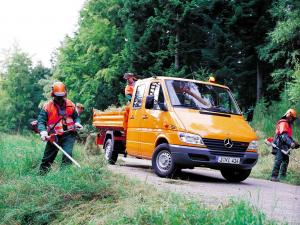 Mercedes-Benz Sprinter Double Cab Pickup 2000 года