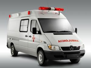 Mercedes-Benz Sprinter Street Ambulance 2000 года