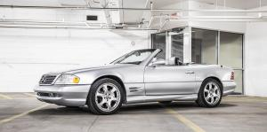 Mercedes-Benz SL500 Silver Arrow 2001 года (US)