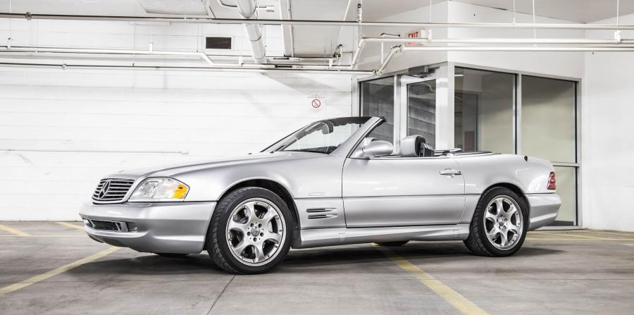 2001 Mercedes-Benz SL500 Silver Arrow (US)