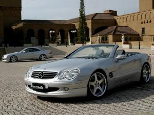 Mercedes-Benz SL500 by Wald 2001 года