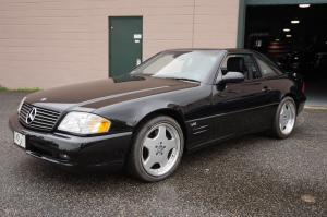 2001 Mercedes-Benz SL600