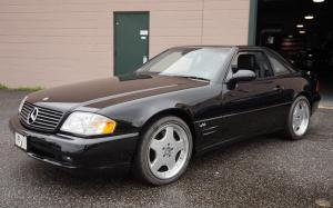 Mercedes-Benz SL600 2001 года