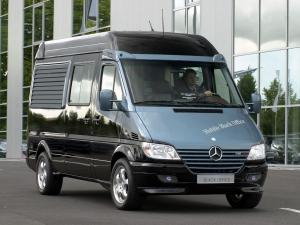 Mercedes-Benz Sprinter Mobile Black Office Concept 2001 года