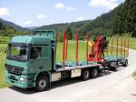 Mercedes-Benz Actros 2651 Timber Truck 2002 года