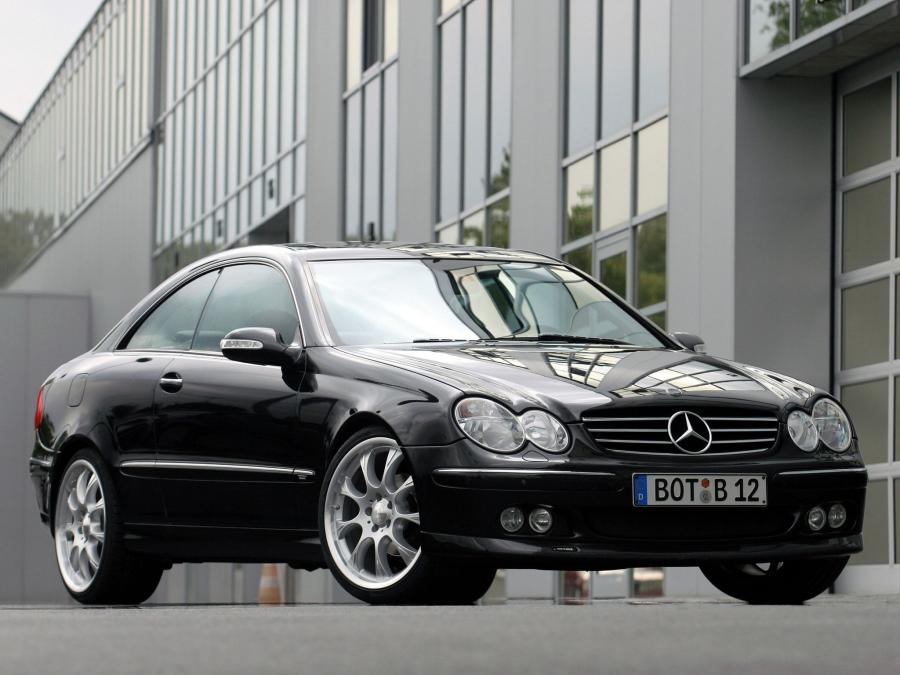 Mercedes-Benz CLK 6.1 by Brabus