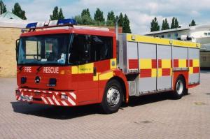 Mercedes-Benz Econic Dennis Emergency Support Unit 2002 года