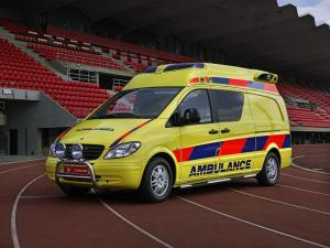 Mercedes-Benz Vito Ambulance by Tamlans 2003 года